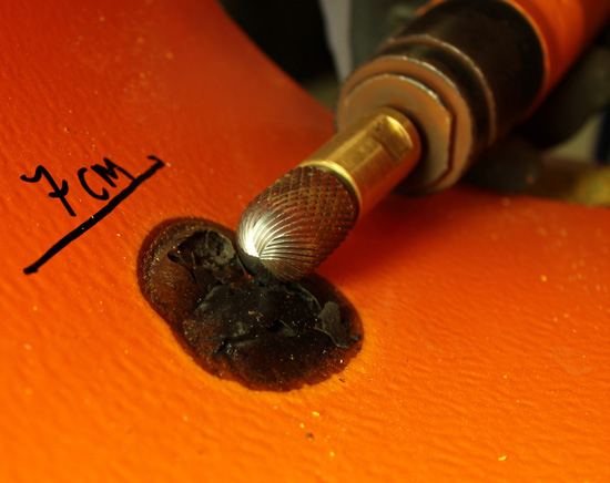 Spot repair safety tools