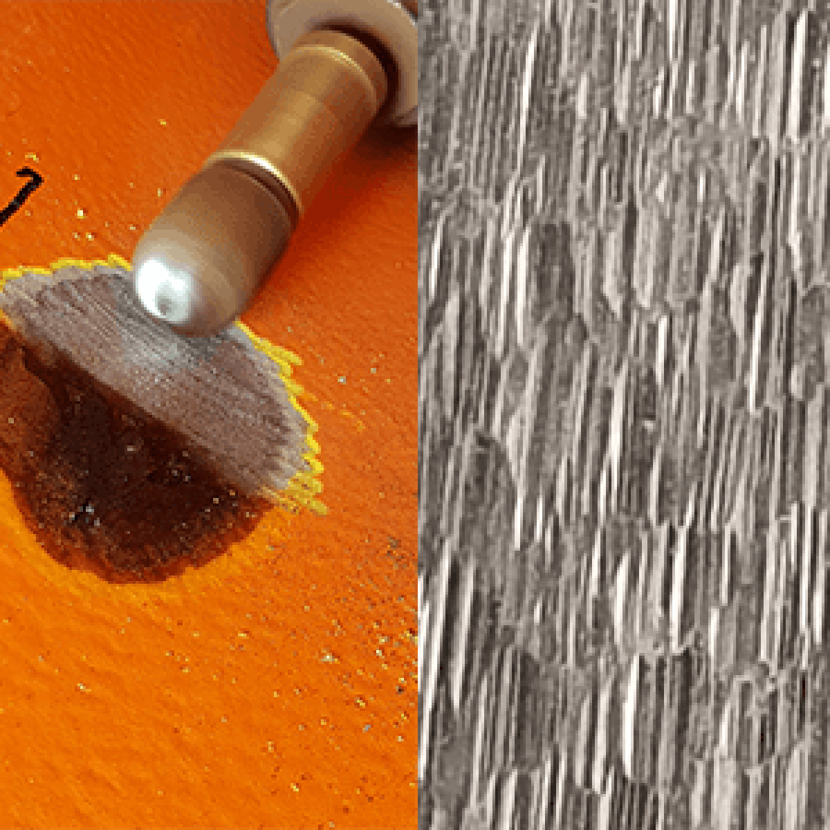 A-0005 spot repair / Overflateprofil / Kaldt arbeid