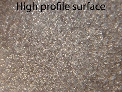 high profile - Surface profile