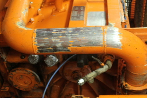 Efficient removal of old paint and corrosion