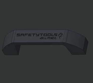 Håndtak med logo design